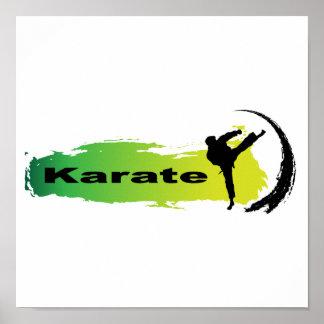 Unique Karate Poster