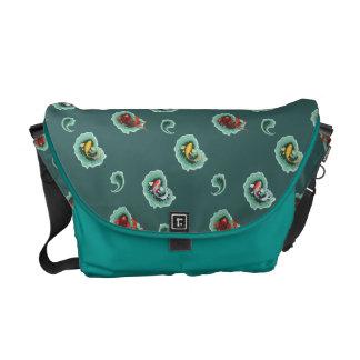 Unique Koi Courier Bag