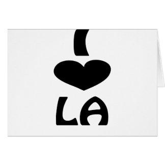 Unique LA Shirts Card