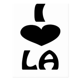 Unique LA Shirts Postcard