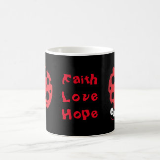 Unique lady bug designs coffee mug