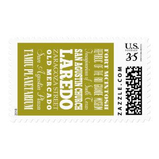 Unique Laredo, Texas Gift Idea Stamp