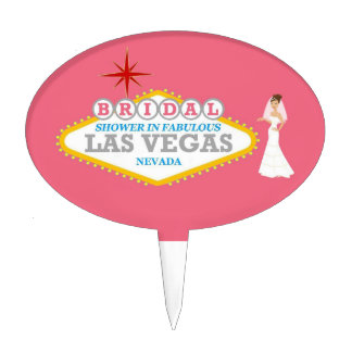 UNIQUE Las Vegas BRIDAL Shower Cupcake/Cake Pick