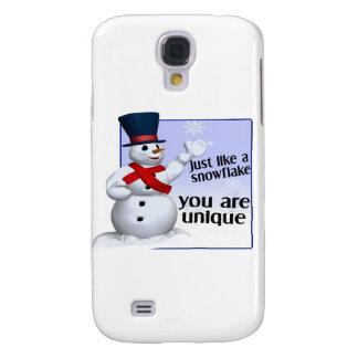 Unique Like A Snowflake Galaxy S4 Cover