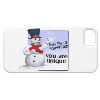 Unique Like A Snowflake iPhone SE/5/5s Case