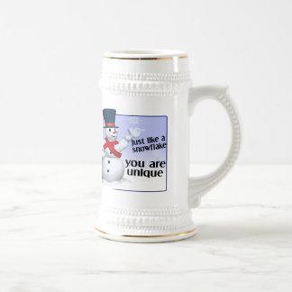 Unique Like A Snowflake Coffee Mug