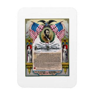 Unique Lincoln Emancipation Proclamation Magnet