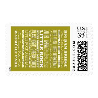 Unique Little Rock, Arkansas Gift Idea Postage Stamps