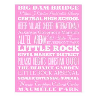 Unique Little Rock, Arkansas Gift Idea Postcard