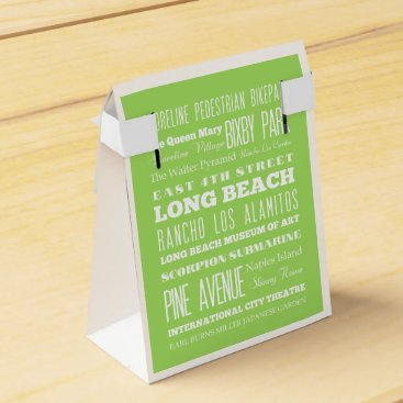 Beach Themed Unique Long Beach, California Gift Idea Favor Box