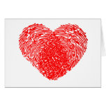 Unique Love Heart Romantic Personal Touch Greeting Card