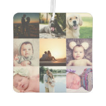 Unique made by you 9 Photo Collage Personalized Air Freshener