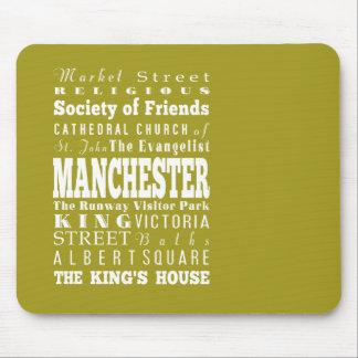 Unique Manchester, United Kingdom Gift Idea Mouse Pad