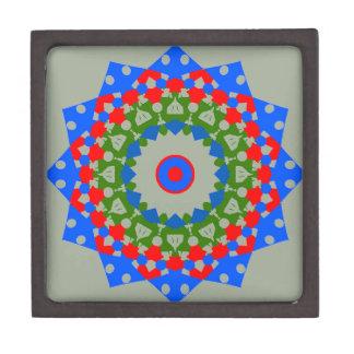 Unique Mandala Design on Premium Jewelry Box