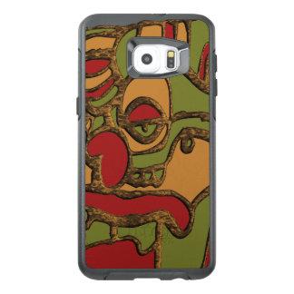 Unique Mayan Hieroglyphs Design OtterBox Samsung Galaxy S6 Edge Plus Case