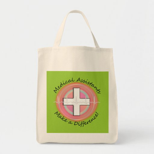 Unique Medical Assistant Gifts Grocery Tote Bag