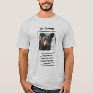 Unique Men's E. Tenneesse Tee With Bear