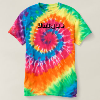 Unique Men's Spiral Tie-Dye T-Shirt
