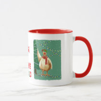 Unique : Merry Christmas - From The Chickens! Mug