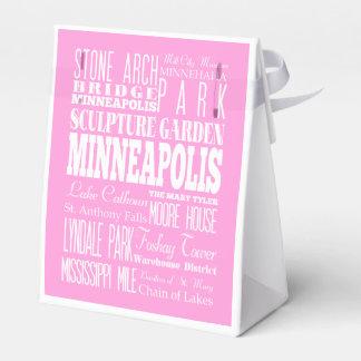 Unique Minneapolis,Minnesota Gift Idea Favor Box