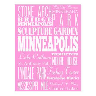 Unique Minneapolis,Minnesota Gift Idea Postcard