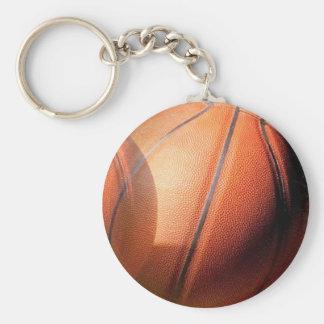Unique Modern Basketball Artwork Keychain