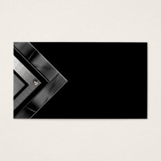 Unique Modern Metal Professional Business Cards at Zazzle