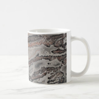 Unique Natural Rock Crazy Lace Agate Basic White Mug