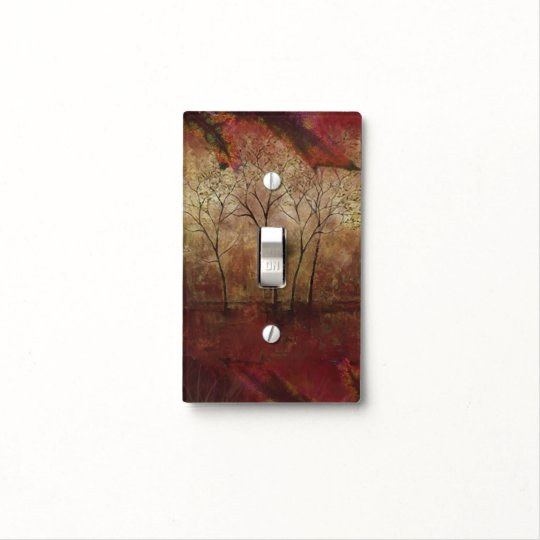 Unique Nature Painting Light Switch Cover