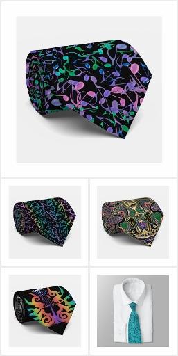 Unique Neckties