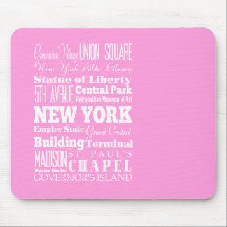 Unique New York, New York Gift Idea Mouse Pad