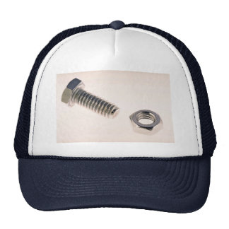Unique Nut and bolt Trucker Hat