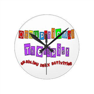 Unique Occupation Therapist Clock