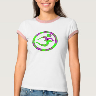 Unique Om Symbol - Yoga T Shirts Women