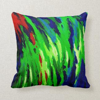 Unique Opal Square Throw Pillow