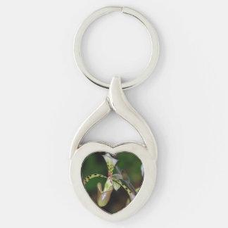 Unique Orchid Keychain