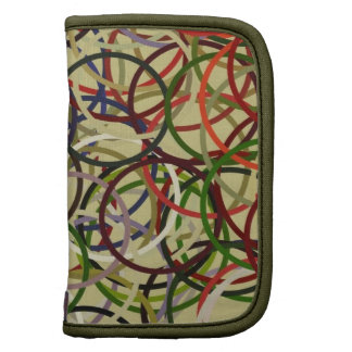 Unique Original Abstract Art Bags, Planners