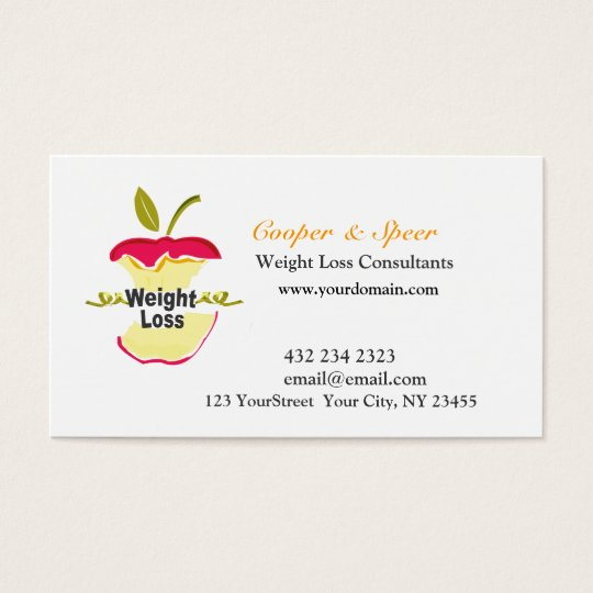 Unique Original Dietitian Nutritionist Business Business Card