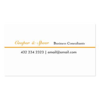 Unique Original Generic  Business Consultant Business Card