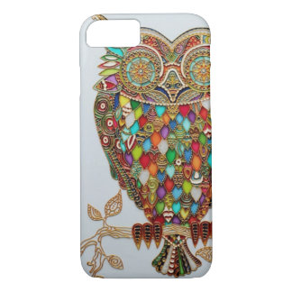 Unique Owl Design iPhone 7 Case