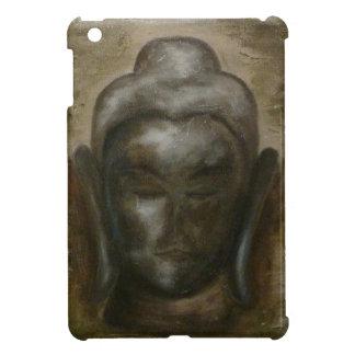 Unique painted face of buddha iPad mini case