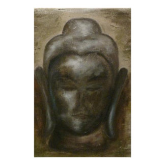 Unique painted Face of buddha Stationery