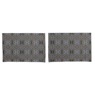 Unique Pair of Pillowcases, Standard Size Pillow Case
