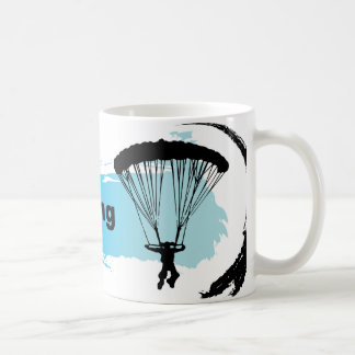 Unique Parachuting Coffee Mug