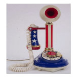 Unique, patriotic phone, to call home on posters