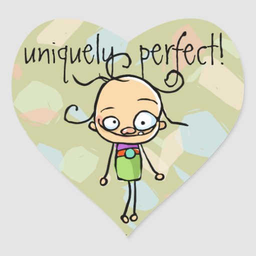 Unique & Perfect,special,one of a kind. Much loved Heart Sticker