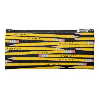 Unique Personalized Yellow Pencils Pencil Case