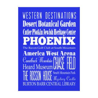Unique Phoenix, Arizona Gift Idea Canvas Print