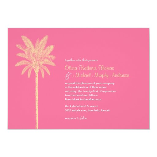 unique wedding invitations unique pink wedding invitations zazzle 8188