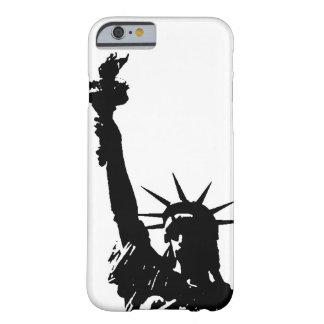 Unique Pop Art Liberty Silhouette iPhone 6 Case